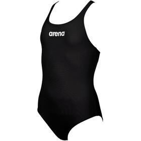 arena Solid Swim Pro Maillot de bain une pièce Fille, noir